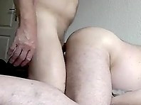 German Daddies Ass Fucking and Creampie on Webcam
