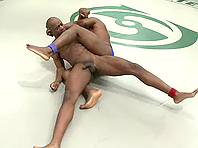 Jack Hammer and Race Cooper fight on tatami and make gay love