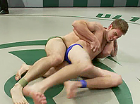 Hayden Russo blows and gets his butt drilled on a ring