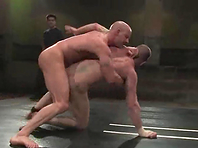 Brock Armstrong gives a rimjob and gets fucked on a ring