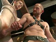 Adam Herst enjoys fucking Seamus O'Reilly's holes in BDSM video