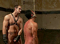 Gianni Luca gets his gay butt fucked from behind by Phenix Saint