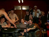 Cole Streets gets tortured and fucked by a group of gays in BDSM video