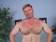 Redhead daddy allows a horny black poofter rip his ass apart