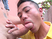 Niko Reeves gets his homosexual anus drilled hard outdoors