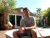Castro Supreme plays dirty games with slutty queer Alejandro outdoors