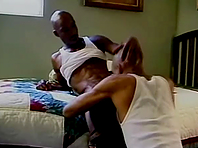 Slutty black gay can't stop sucking his horny buddy's BBC