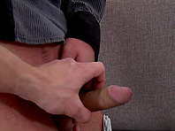 Paul Fresh lets a poofter suck his dick before they bang doggy style