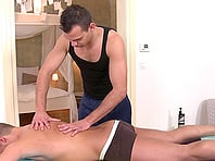 Joey Intenso and Dee have bareback gay sex after a rimjob