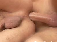 Lecherous homo enjoys some dirty bareback doggystyle sex